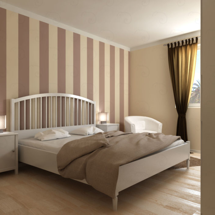CAMERA-MATRIMONIALE-vista-angolo-finestra-705x705 Double Bed Rooms %SmartRelooking