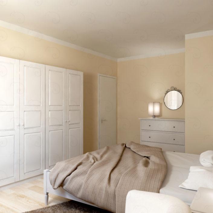 CAMERA-MATRIMONIALE-vista-ingresso-705x705 Double Bed Rooms %SmartRelooking