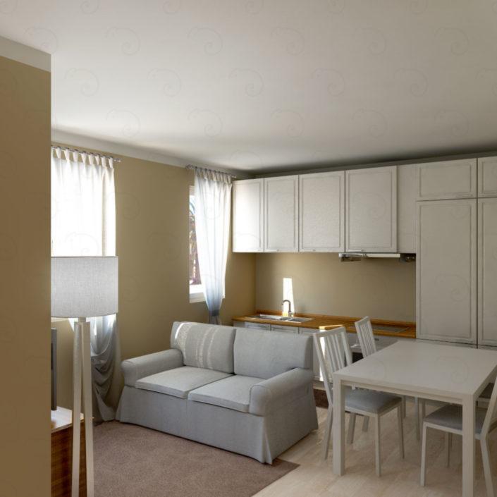 soggiorno-vista-cucina-705x705 Living Rooms %SmartRelooking