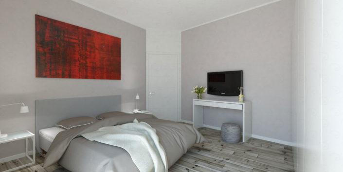 CAMERA-MATRIMONIALE-vista-1-705x353 Double Bed Rooms %SmartRelooking