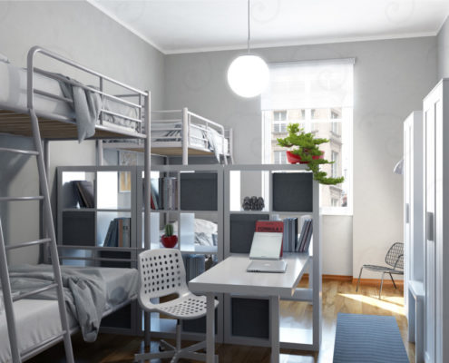 DOUBLE-ROOM-vista-2-495x400 Portfolio %SmartRelooking