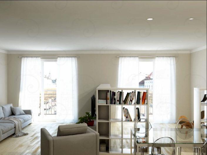 LIVING-Vista-1-con-libreria-aperta-705x530 Living Rooms %SmartRelooking
