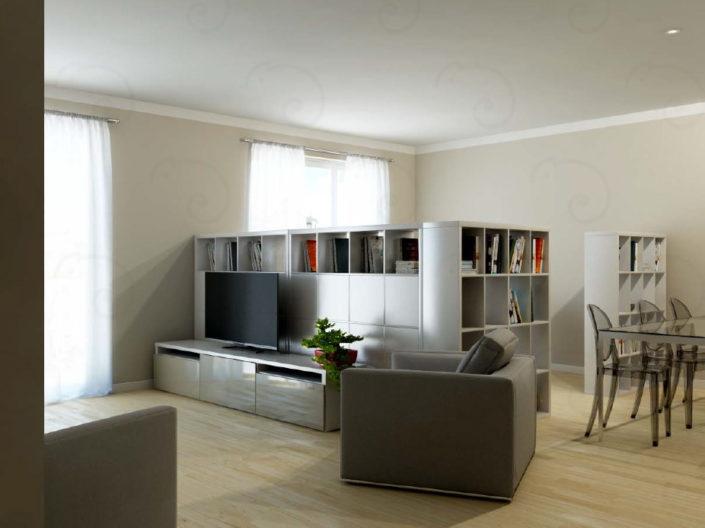 LIVING-Vista-2-con-libreria-aperta-705x528 Living Rooms %SmartRelooking