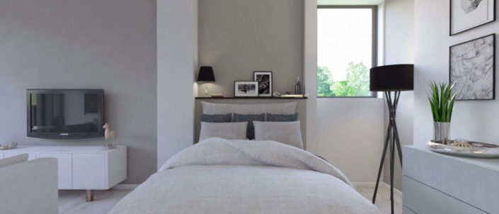 LIVING-vista-4-ipotesi-senza-struttura-divisoria-705x302 Double Bed Rooms %SmartRelooking