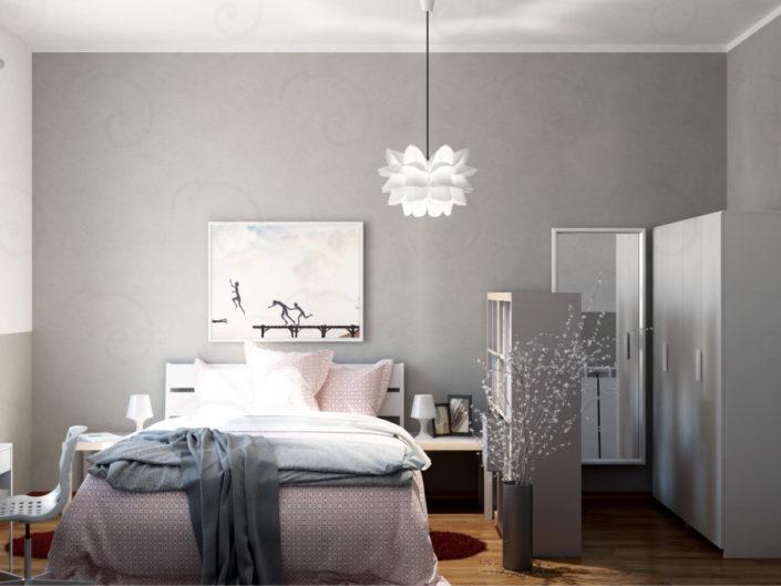 MASTER-ROOM-vista-3-705x529 Double Bed Rooms %SmartRelooking