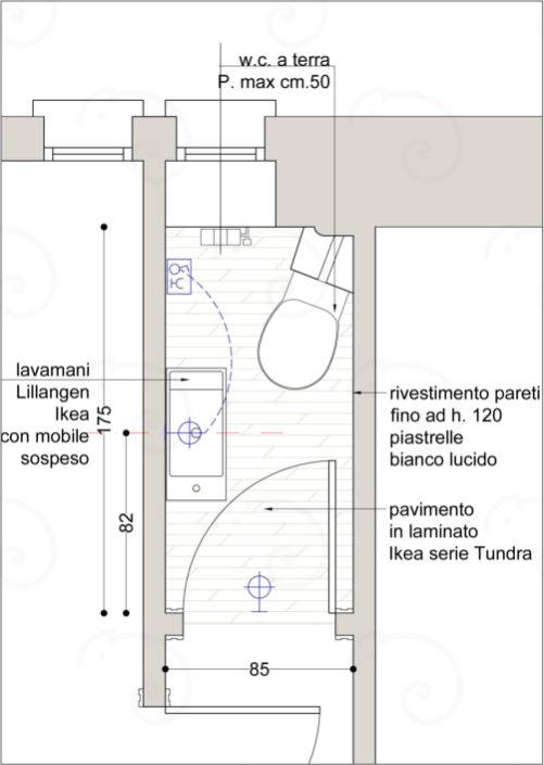 Planimetria-Bagno-Piccolo-501x705 BathRooms %SmartRelooking
